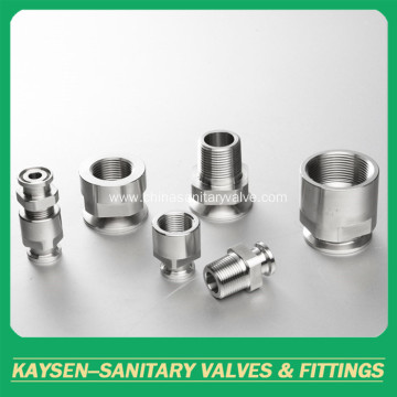 Sanitary NPT female clamped adapter(22-14MP NPT)