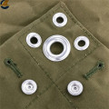 5x5 waterproof cotton tarps with grommets