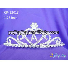 Pageant Crown Heart Wedding Tiaras