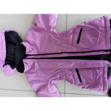 OEM fashional kids wear pink coat children jacket