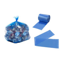Plastic Garbage Bag in Blue