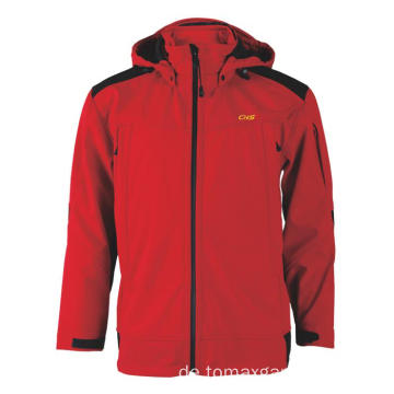 Weicher Stoff Red Jacket