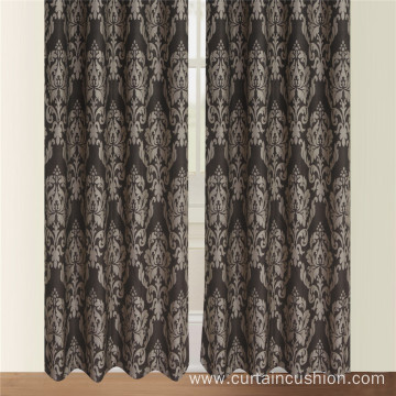 Classic Fashion Damask Design Jacquard Curtain