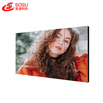 Support 4k full hd lcd video wall
