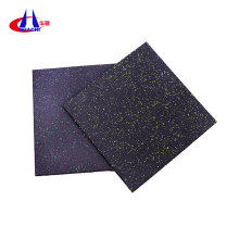 Weight lifting rubber flooring mats