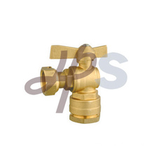 Brass Ball Valve for HDPE Pipe (angle type)