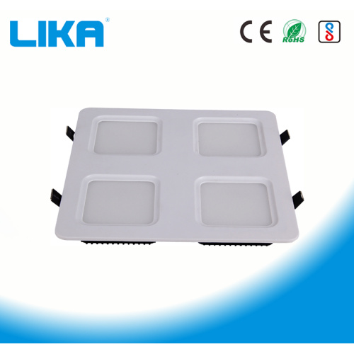48W Four Headed Grille Led Panel light