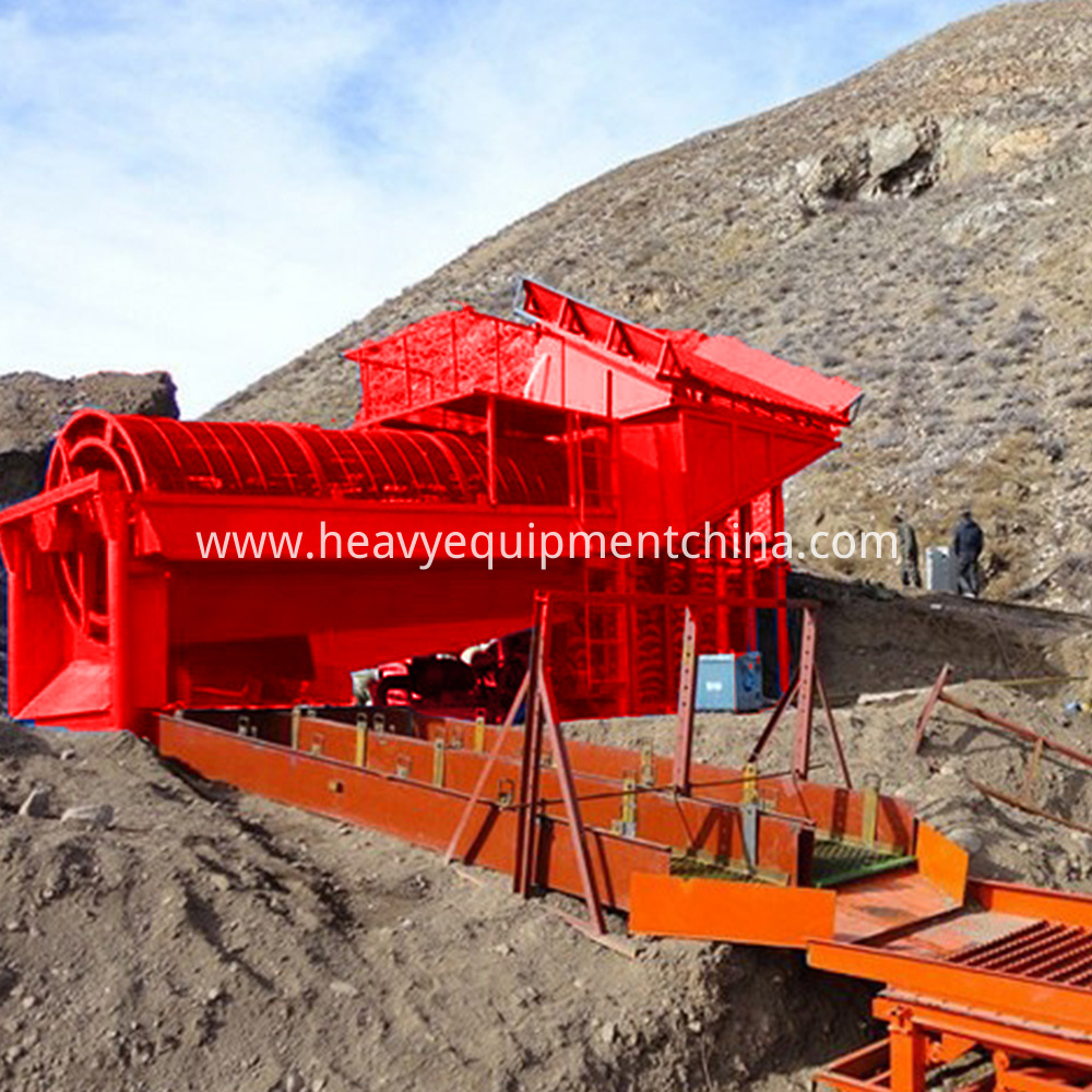 Alluvial Gold Ore Washing Plant