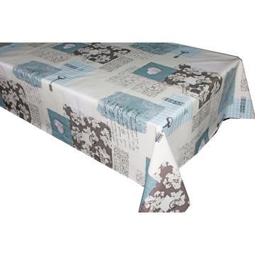 Pvc Printed fitted table covers 96 Inches Long