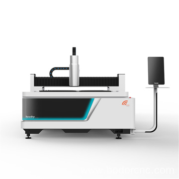 Automatic exchange table Fiber Laser metal Cutting machine