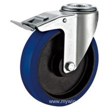 6inch Bolt Hole Quality Industrial Castors With Brake