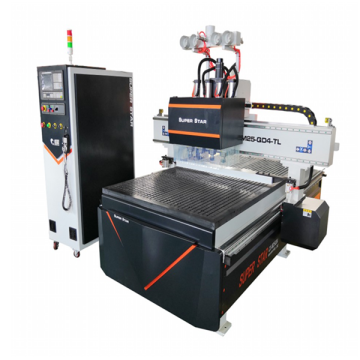 Multi-heads automatic wood cnc router