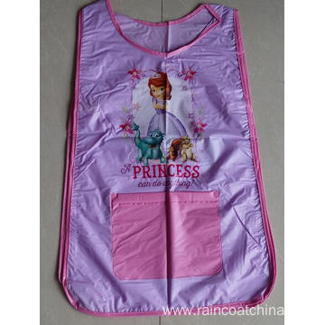Waterproof PVC Double Sided Children Pattern Apron