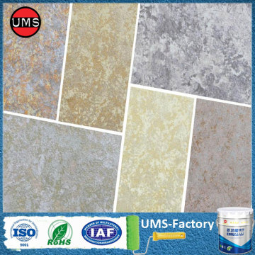 Stone textured outdoor spray wall paint