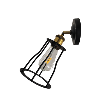 Industrial Modern Iron Wall Lamp