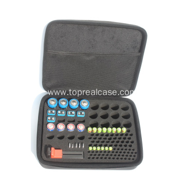 Hard Battery Organizer Storage Box Carrying Case