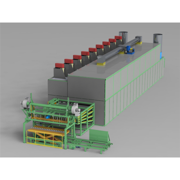 Production Cost Reduced Veneer Roller Dryer
