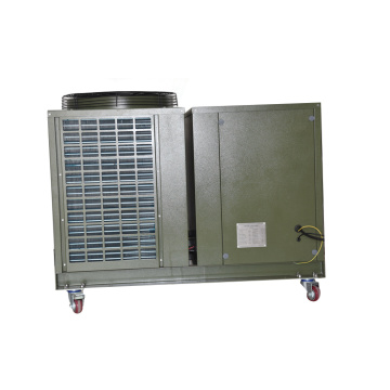Military camps use portable air conditioner with wheel