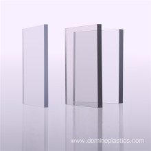 Hard plastic 10mm perspex sheet polycarbonate sheet