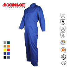 Pakaian FRC Cotton Flame Retardant Coverall