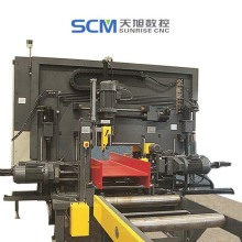 Swz700 CNC Hydraulic CNC Drilling Machine for Beams