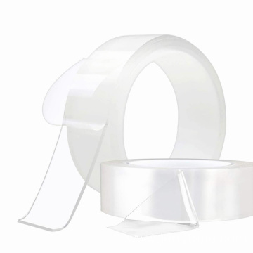 Transparent Double Sided Washable Nano stick Tape
