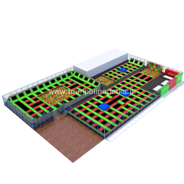Multifunctional Customized Trampoline Arena