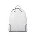 Girls White Leisure multifunction Mini Cow Leather Backpack
