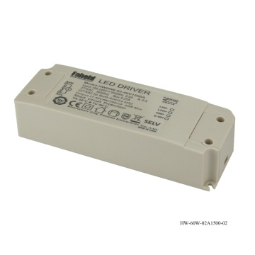 60W CE Panel mounted dimming led driver