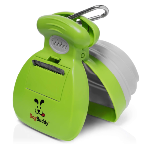 Heavy Duty Dog Waste Cleaner with Bag Dispenser