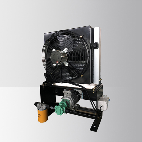 Independent Oil Pump Ac Axial Fan Heat Exchanger