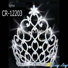 10 Inch large Pageant Crowns