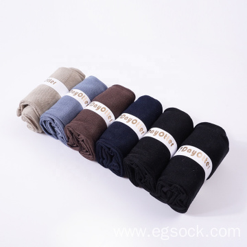 packed blank mercerized cotton casual men's business socks