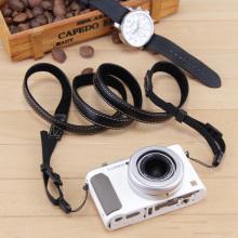 PU Camera strap for Panasonic LUMIX DMC-LX15 LX10 LX9 TX2 TZ200 TZ100 ZS220 ZS100 ZS80 ZS70 TZ95 TZ90 TZ85 Hanging neck strap