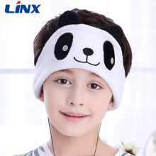 Animal Styles Fleece Sleep Headband hörlurar för barn