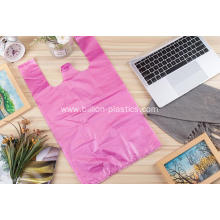Pure HDPE Shopping Vest Bag in Color