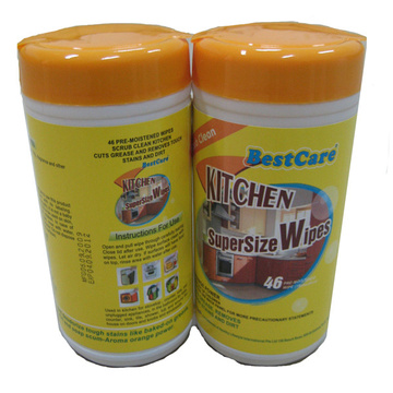 Soft Canister Pack Kitchen Wet Wipes