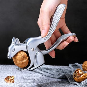 Creative Squirrel-shaped Nutcracker Walnut Cracker Pliers Nut Clips Multi-function Pecans Hazelnut Brazil Nut Tools KitchenLA468