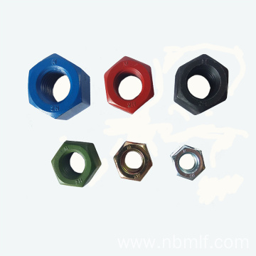 ASTM A194 Carbon Steel Ptfe Heavy Hex Nut