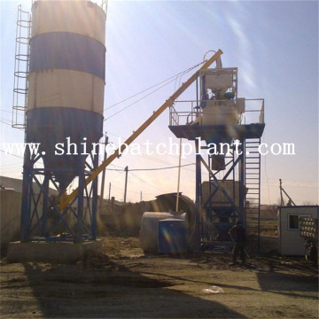 35 Construction Mobile Concrete Batching Machine