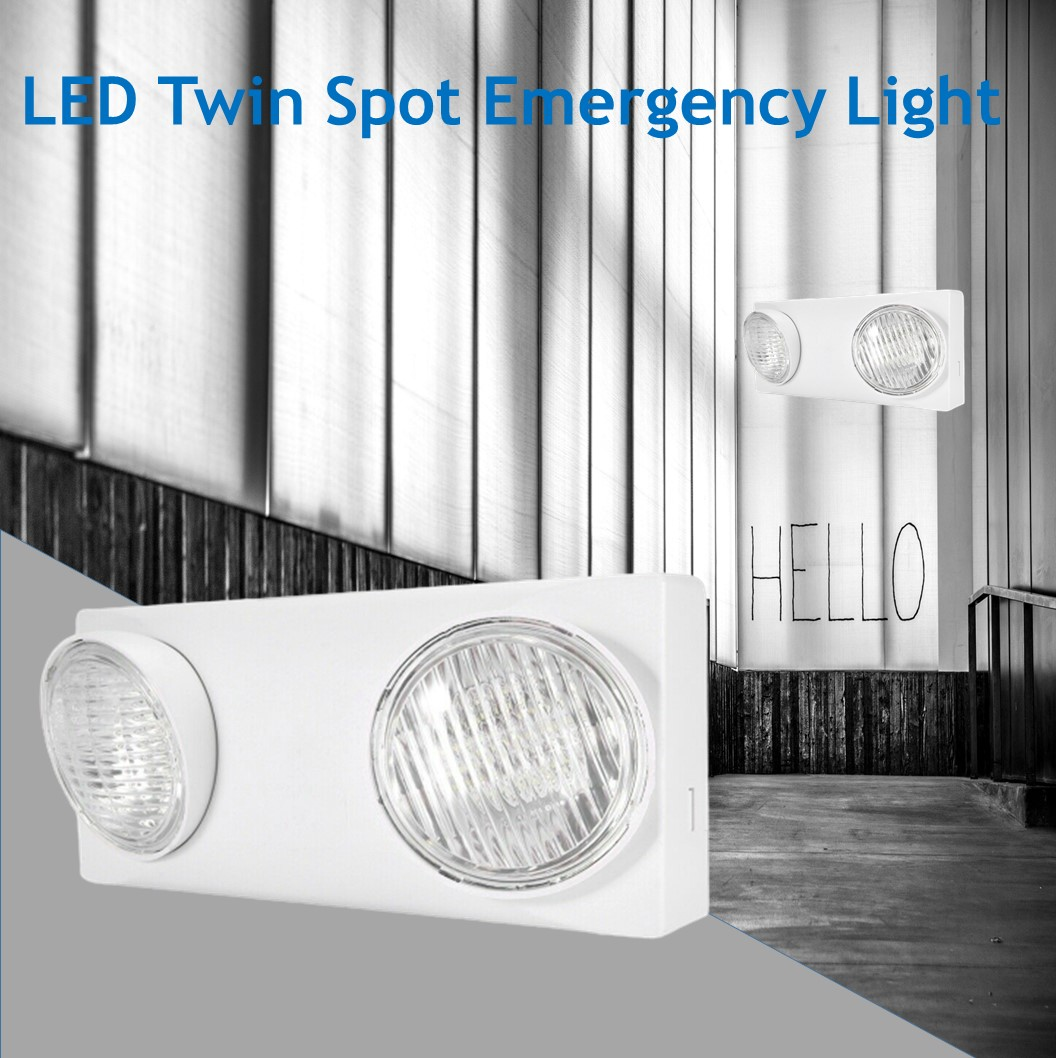 emergency twin spots light