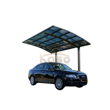 Support SunShield Shade Roof Rain Canopy Vinyl Carport