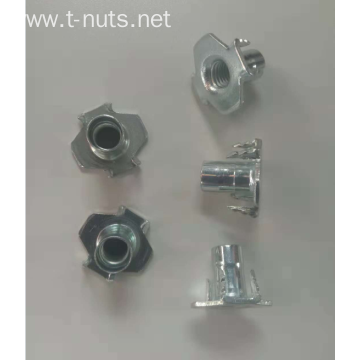 M4 Carbon steel  Lock Tee Nuts