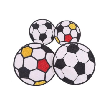 Custom Design Flag Soccer Embroidered Patches