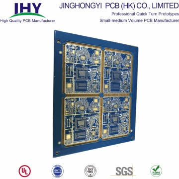 8 Layer Fr-4 High Density BGA and Half-hole PCB