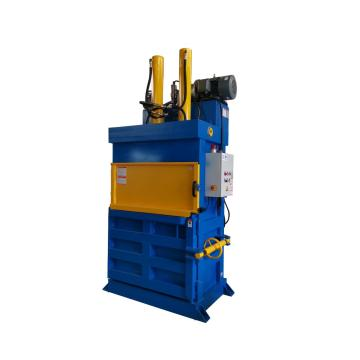 Square baler for waste paper