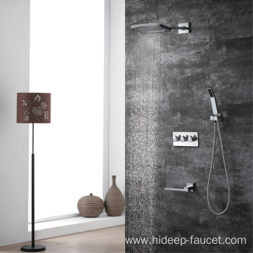 Wall Mounted Cold And Hot Brass Shower Faucet
