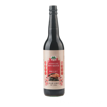 625ml Glass Bottle Superior Light Soy Sauce