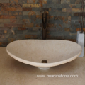 Egyptian beige marble sink