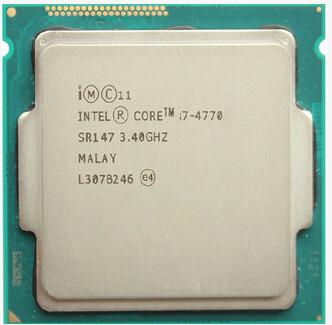 Intel Core Processor I7 4770 I7-4770 i7 4770 CPU LGA 1150 Quad-Core cpu properly Desktop Processor can work